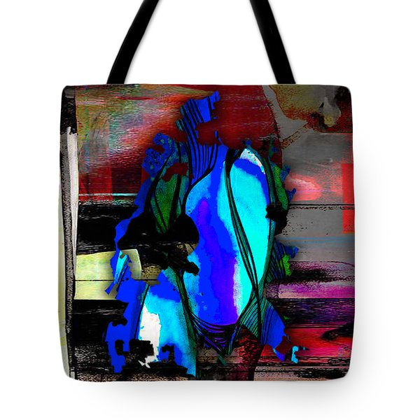 Austin Texas Map Watercolor Tote Bag by Marvin Blaine