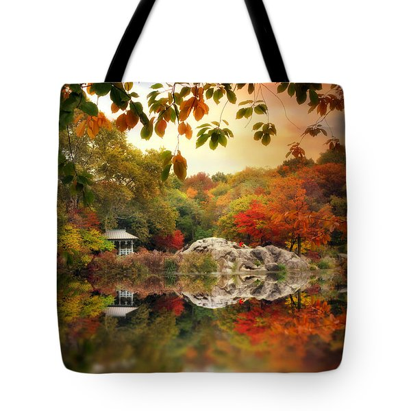 Autumn At Hernshead Tote Bag