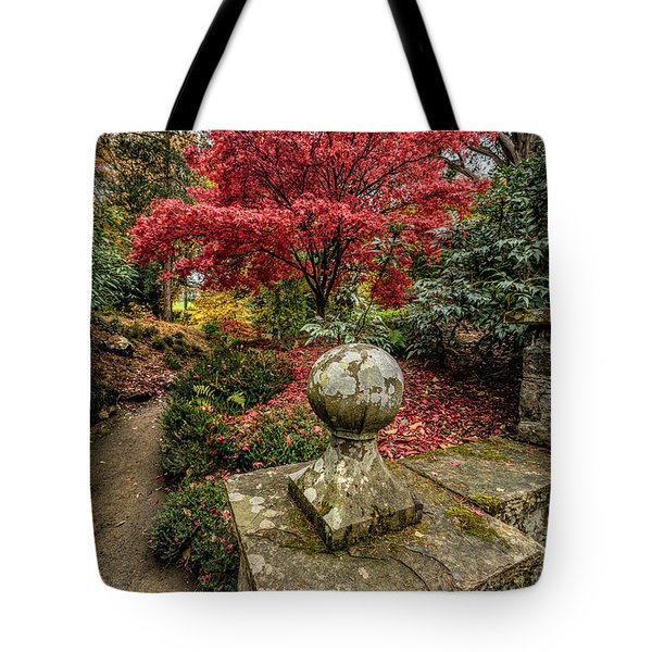 Autumn Path Tote Bag by Adrian Evans