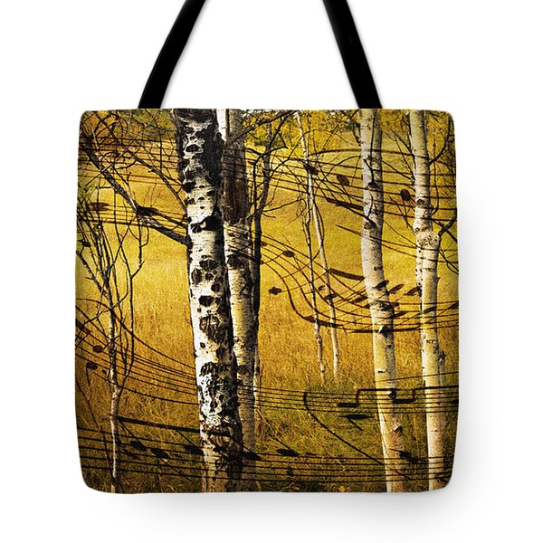 Autumn Sonata Tote Bag by Theresa Tahara