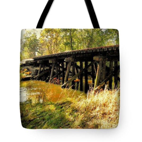 Autumn Travels Tote Bag