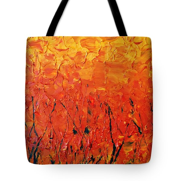 Autumn Winds Tote Bag
