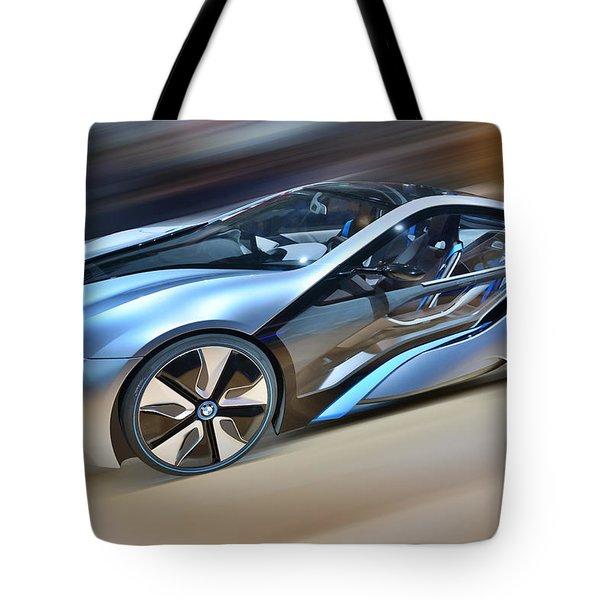 B M W  Edrive I8  Concept  2014 Tote Bag