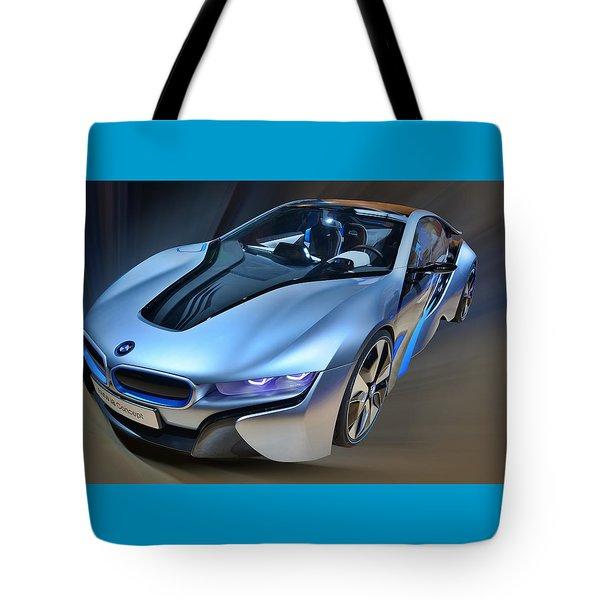 B M W  I8  Concept  2014 Tote Bag