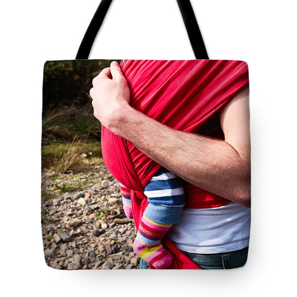 Baby Sling Tote Bag by Tom Gowanlock