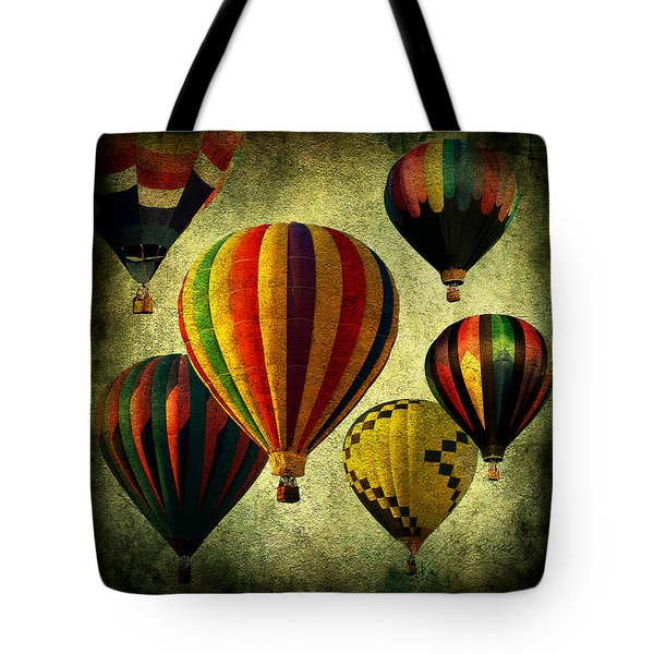 Balloons Tote Bag by Mark Ashkenazi
