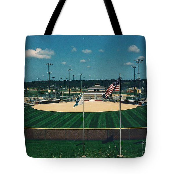 Baseball Diamond Tote Bag