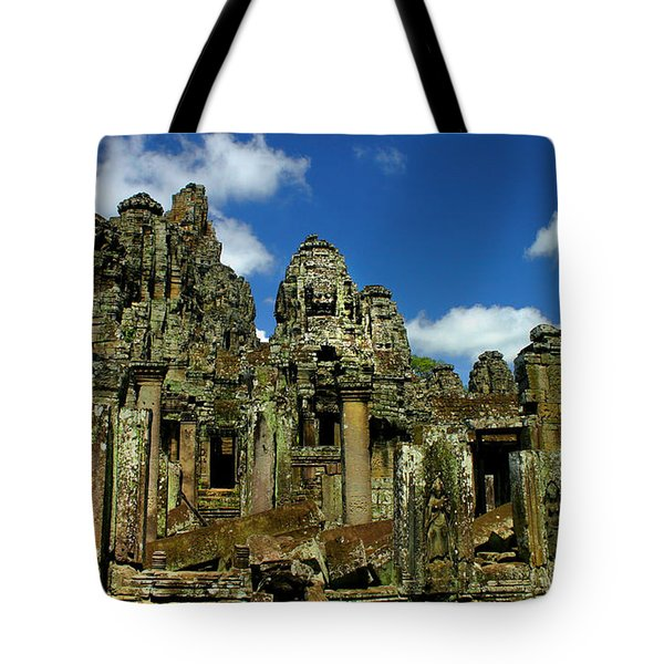 Bayon Temple Tote Bag by Joey Agbayani