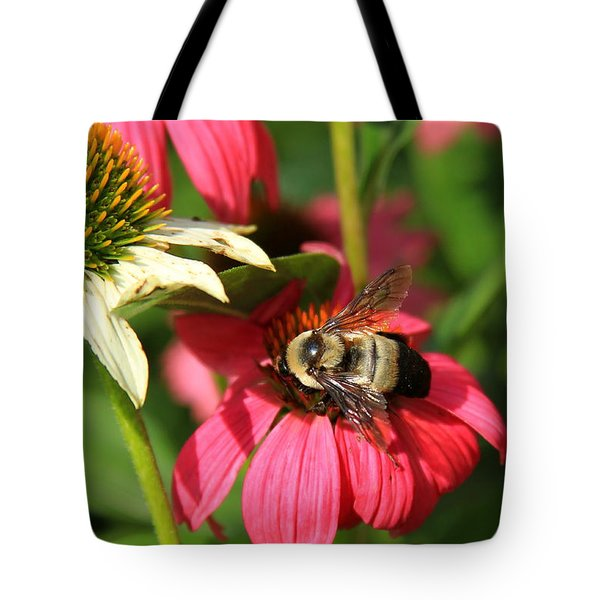 Bee Nice Tote Bag by Reid Callaway