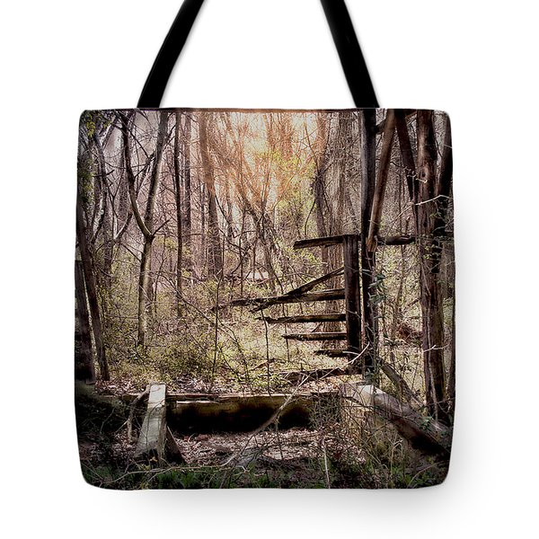 Tote Bag featuring the photograph Been There by Bonnie Willis