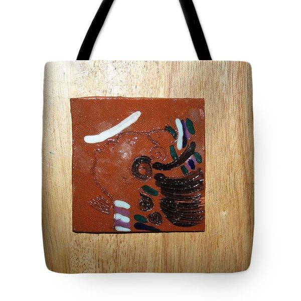 Bella - Tile Tote Bag by Gloria Ssali