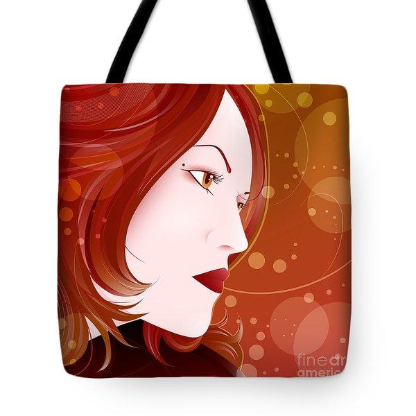 Bella Donna II Tote Bag by Sandra Hoefer