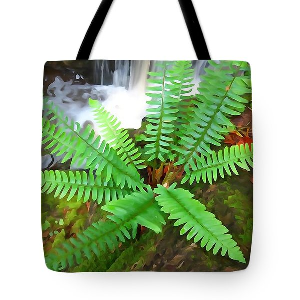 Tote Bag featuring the photograph Beside The Trolley Trail by Dana Sohr