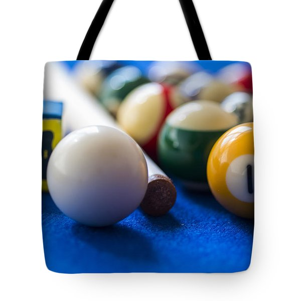 Billiard Balls Tote Bag