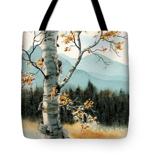 Paper Birch Tote Bag