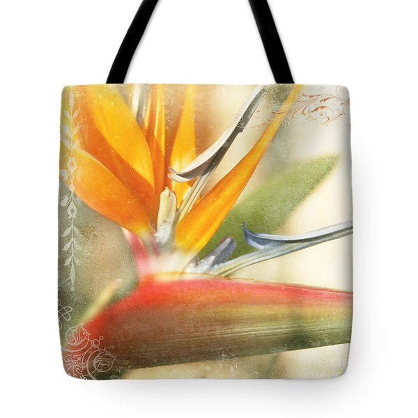 Bird Of Paradise - Strelitzea Reginae - Tropical Flowers Of Hawaii Tote Bag