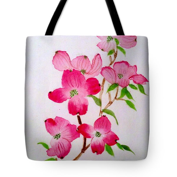 Blooming Dogwood Tote Bag