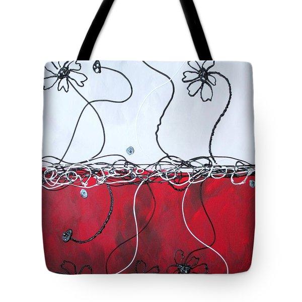 Blossom Tote Bag by Kathy Sheeran