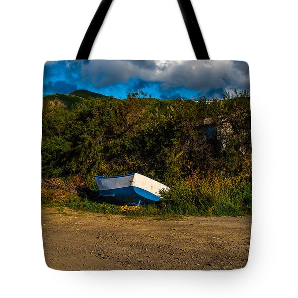 Boat At Rest Tote Bag