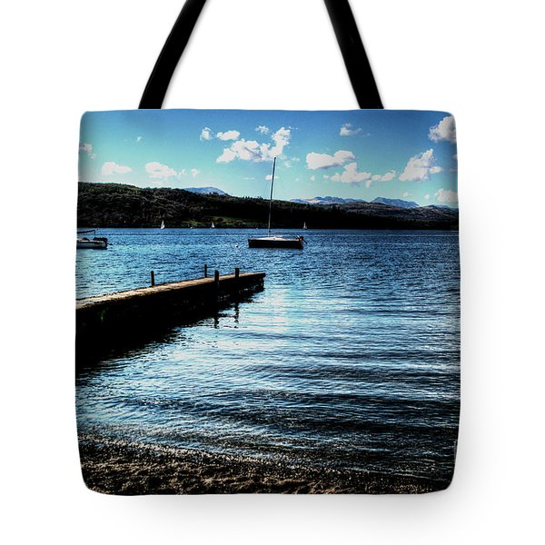 Tote Bag featuring the photograph Boats In Wales by Doc Braham