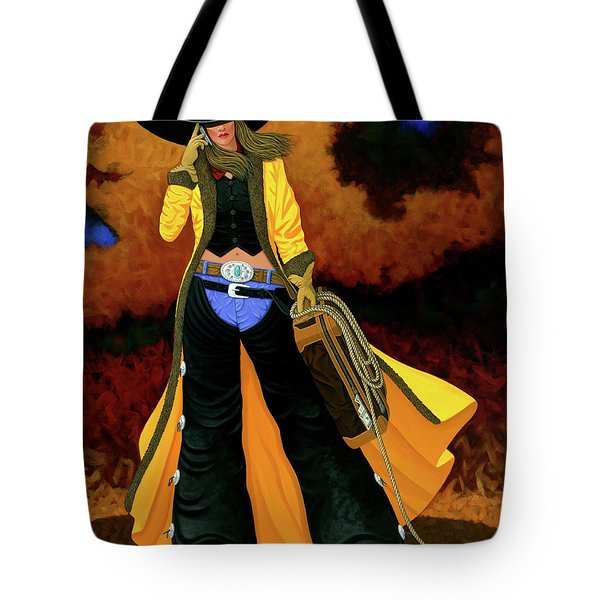 Bonnie Tote Bag by Lance Headlee