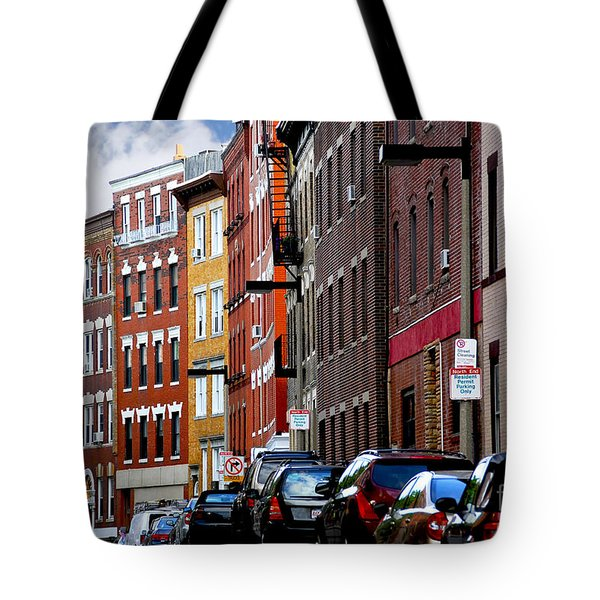 Boston Street Tote Bag by Elena Elisseeva