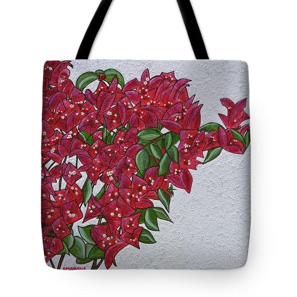 Bougainvillea Tote Bag by Donna  Manaraze