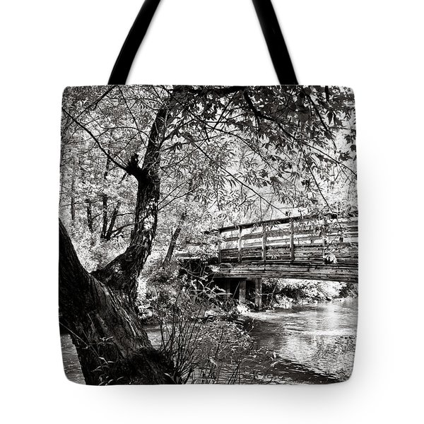 Bridge At Ellison Park Tote Bag
