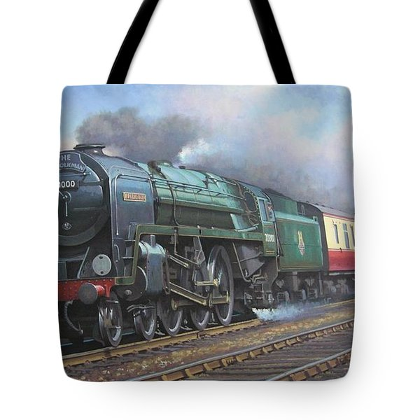 Britannia Pacific. Tote Bag by Mike  Jeffries