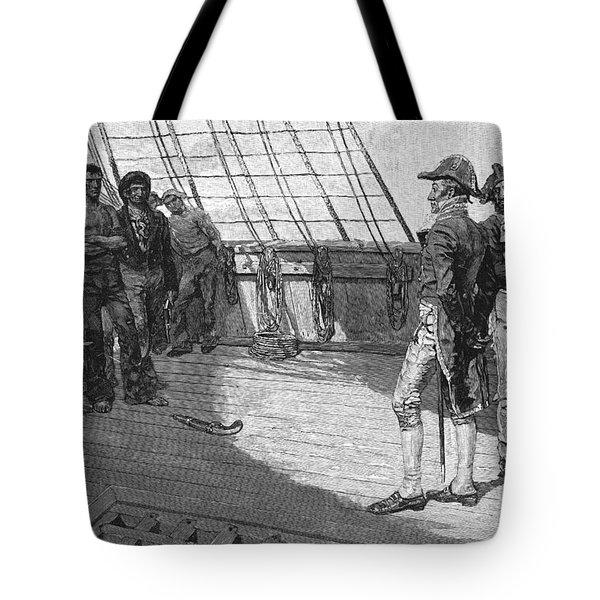 British Impressment, 1807 Tote Bag