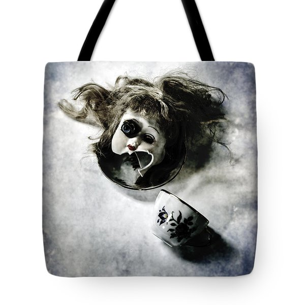 Broken Head Tote Bag by Joana Kruse