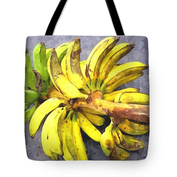 Bunch Of Banana Tote Bag by Lanjee Chee