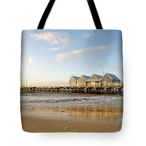 Busselton Jetty Tote Bag