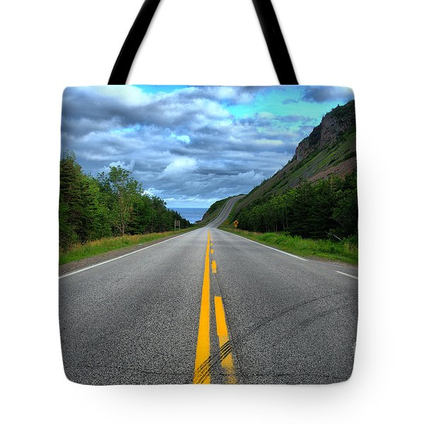 Tote Bag featuring the photograph Cabot Trail by Joe  Ng