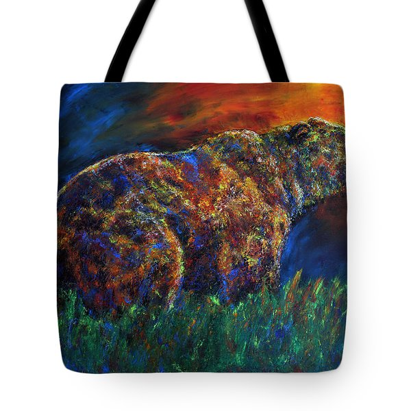 Calm Before The Storm Tote Bag by Jennifer Godshalk