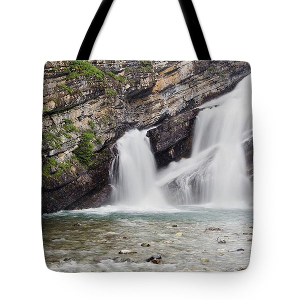 Cameron Falls Tote Bag by Dee Cresswell
