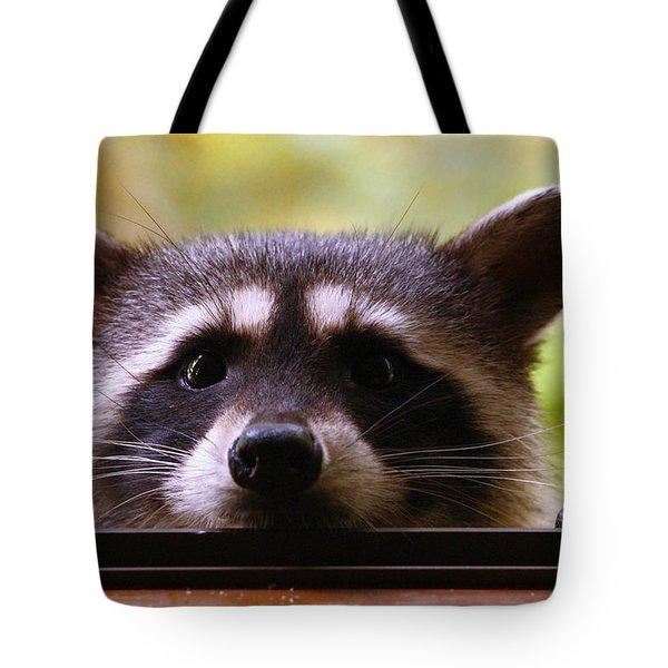 Can You See Me Now? Tote Bag by Kym Backland