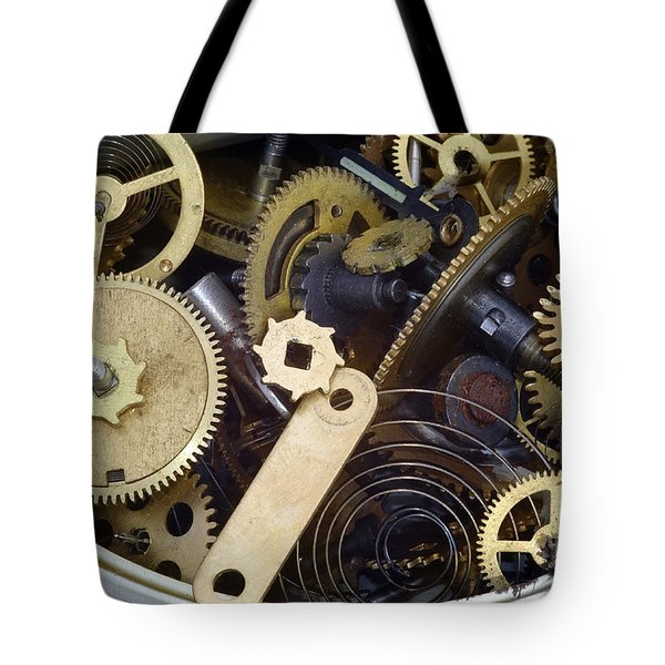 Canned Time Tote Bag by Michal Boubin