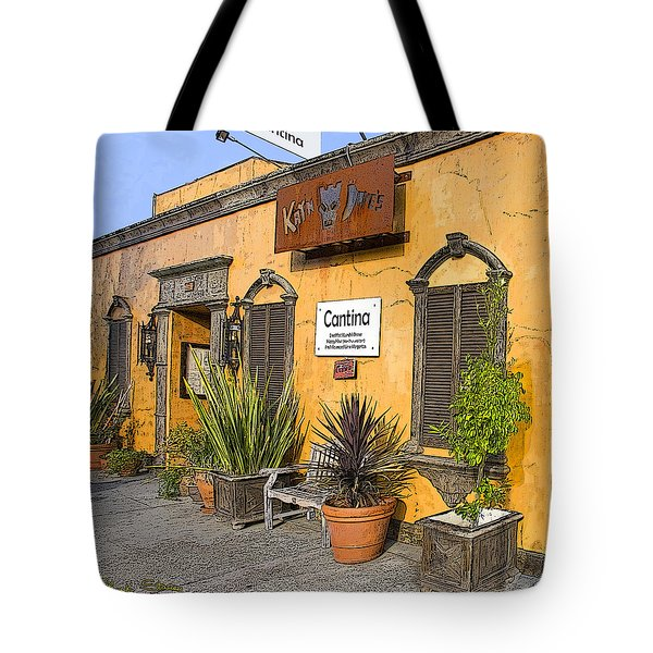 Cantina Tote Bag by Chuck Staley