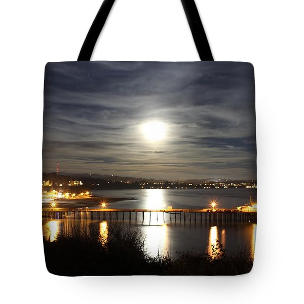 Capitola Moonscape Tote Bag