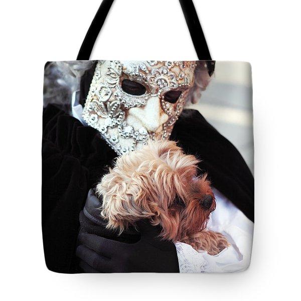 Carnival Dog Tote Bag by John Rizzuto
