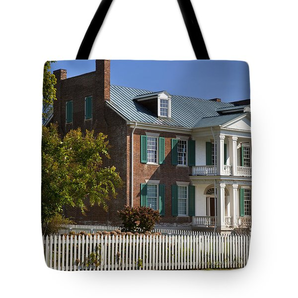 Carnton Plantation Tote Bag
