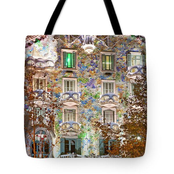 Casa Batllo - Barcelona Tote Bag