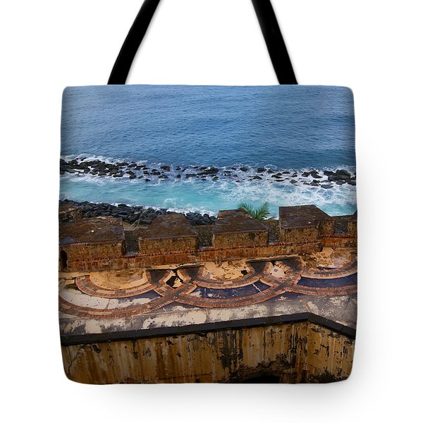 Tote Bag featuring the photograph Castillo San Felipe Del Morro by Olga Hamilton