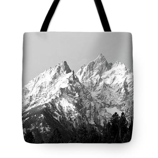 Cathedral Group Grand Teton National Tote Bag