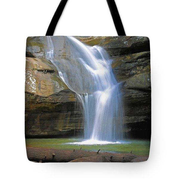 Cedar Falls Landscape  Tote Bag
