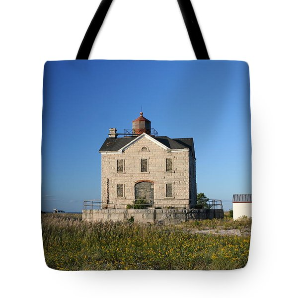 Tote Bag featuring the photograph Cedar Point by Karen Silvestri