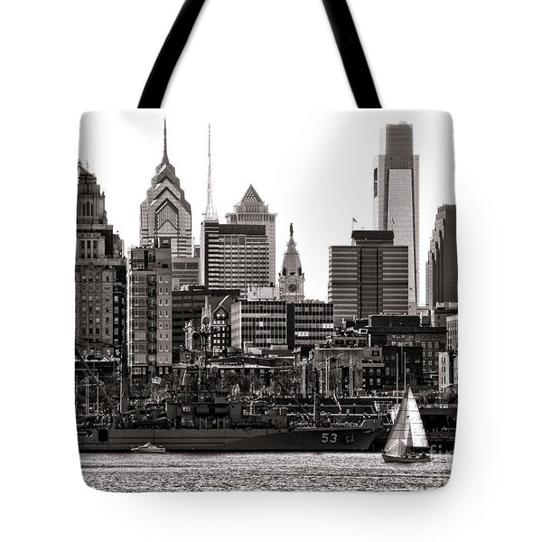 Center City Philadelphia Tote Bag
