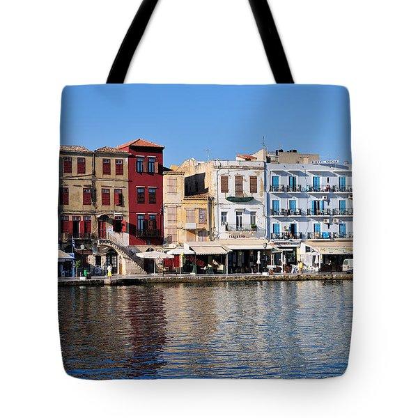 Chania City Tote Bag