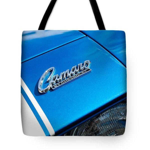 Chevrolet Camaro Emblem Tote Bag by Jill Reger